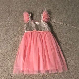 Popatu tulle and sequins dress
